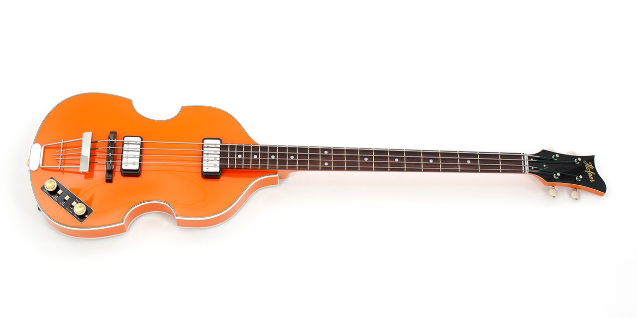 "Violin Bass ""Berlin"" - Orange"