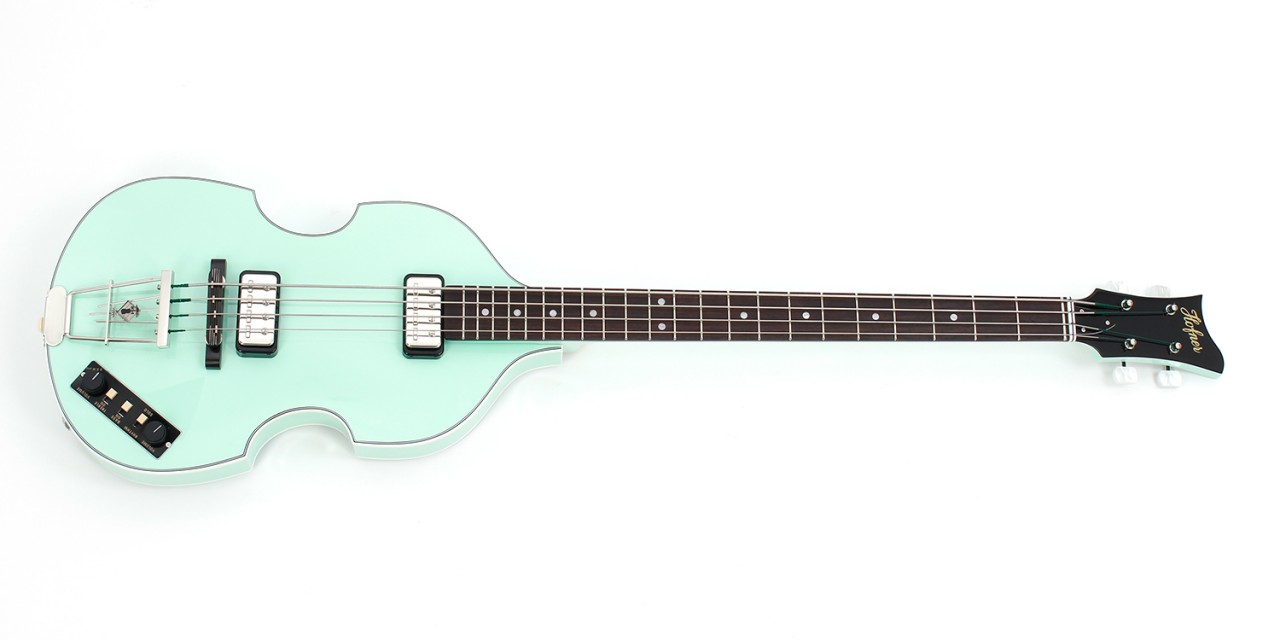 "Violin Bass ""Berlin"" - Surf Green"