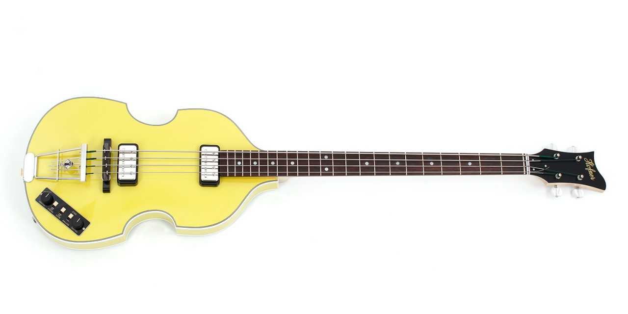 "Violin Bass ""Berlin"" - Yellow"