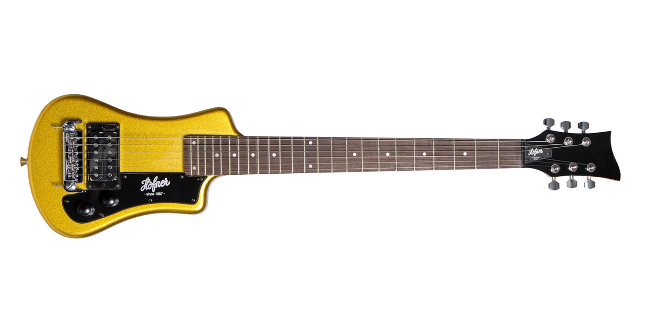 Hofner Shorty - Gold Top - USA Edition