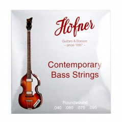 Hofner Bass Strings - Contemporary - Roundwound