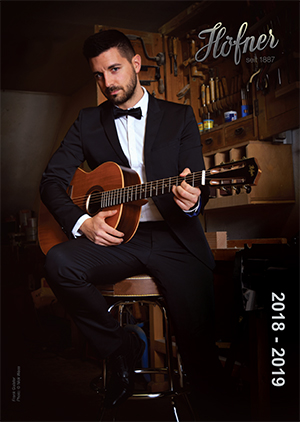Hofner Guitar Catalogue 2018