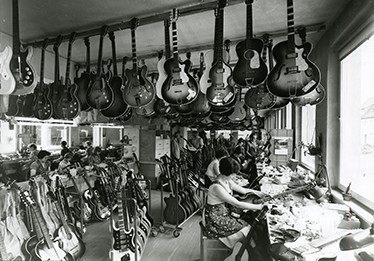 Hofner workshops 1965